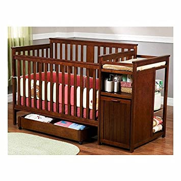 Amazon Com Delta Dakota Crib And Changer In Cider 83001 225 Baby