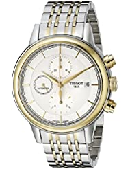 Tissot Mens T0854272201100 Carson Analog Display Swiss Automatic Two Tone Watch