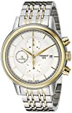 Tissot Men's T0854272201100 Carson Analog Display Swiss Automatic Two Tone Watch