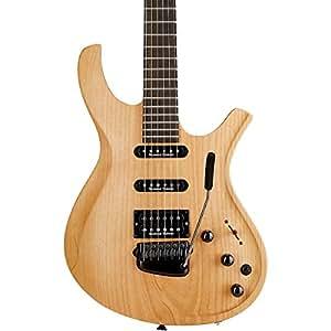 Parker Guitars DF524 Maxx Fly w/ Seymour Duncans and Fishman Piezo Electric Guitar Natural Satin