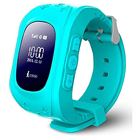 Reloj Security GPS Kids G36 Azul: Amazon.es: Electrónica