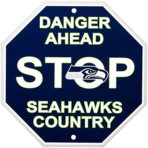 NFL Seattle Seahawks Stop Sign, 12