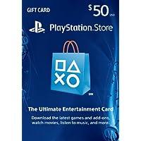 $50 PlayStation Store Gift Card - PS3/ PS4/ PS Vita...