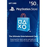 VIDEO_GAME_ACCESSORIES  Amazon, модель $50 PlayStation Store Gift Card - PS3/ PS4/ PS Vita [Digital Code], артикул B004RMK4P8
