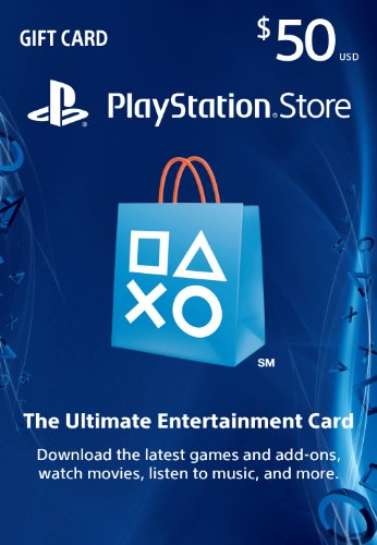 - $50 PlayStation Store Gift Card [Digital Code]