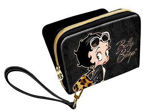 Petit portefeuille Deluxe Betty Boop Black Panther