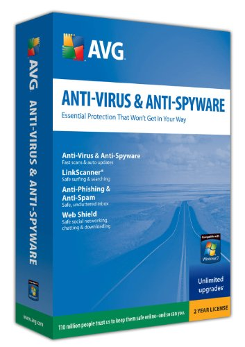 Anti-Virus & Anti-Spyware - 2 Year Subscription