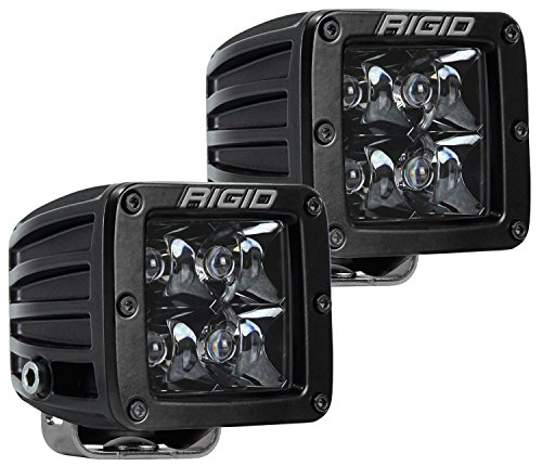 Rigid Industries 202213BLK D-Series Midnight Optic Spot Light
