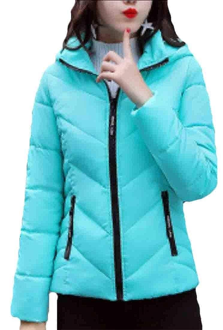 4 Esast Women's Lightweight Packable Down Jackets Outwear Puffer Warm Down Coat