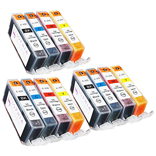 Sophia Global Compatible Ink Cartridge Replacement Set fo...