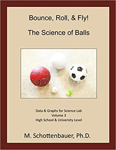 Epub lataa google-kirjat Bounce, Roll, & Fly: The Science of Balls: Data and Graphs for Science Lab:  Volume 3 by M. Schottenbauer 1493788523 Suomeksi CHM