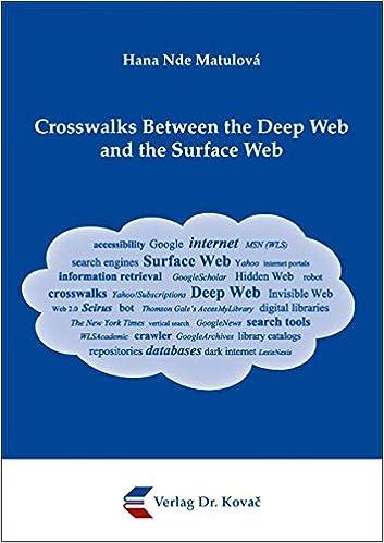 Crosswalks Between the Deep Web and the Surface Web: Hana