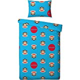 Paul Frank Childrens/Kids Spots Single/Twin Duvet Cover Pillowcase (Twin Bed) (Blue)