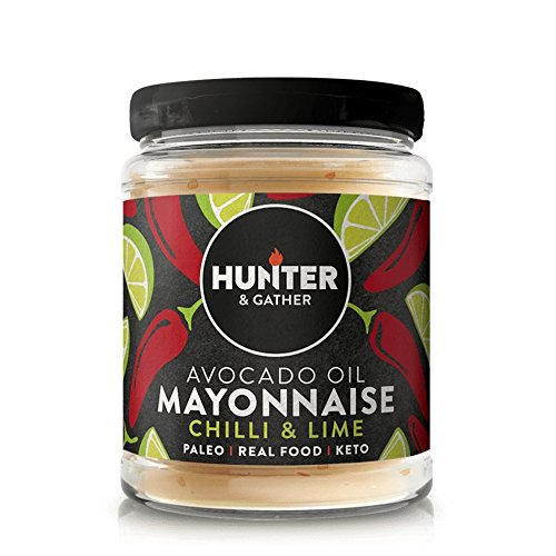 Hunter & Gather Mayonesa de Aguacate Paleo con chile y lima sin gluten y azúcar 175g