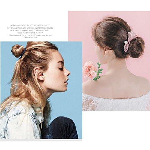 accessories hair hair gift Korean headdress ball fluffy C head hair head female Great band Plate E Color lady 4wBSWqn4