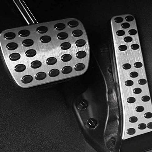 Huante Anti-Rutsch-Fu/ßpedal-Kit f/ür Mercedes C E S GLC GLE GLK SLK CLS SL Klasse W204 W205 W213 X253 W167