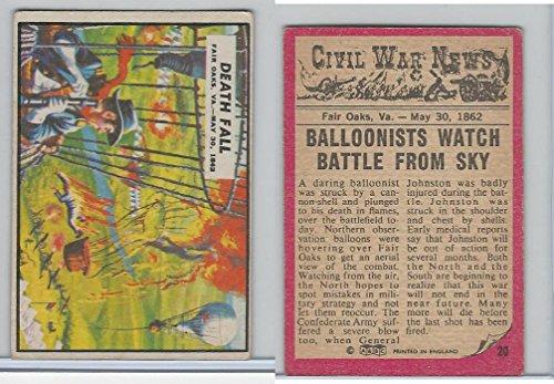 1965 A&BC, Civil War News, #20 Death Fall, Fair Oaks, - Oaks Fair Va