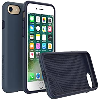 iPhone 8 Case [Also fits iPhone 7], RhinoShield [PlayProof] Heavy Duty Shock Absorbent [High Durability] Scratch Resistant. Ultra Thin. 11ft Drop Protection Rugged Cover - Dark Blue