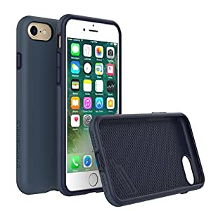 iPhone 7 Case, RhinoShield [PlayProof] Heavy Duty Shock Absorbent [High Durability] Scratch Resistant. Ultra Thin. 11ft Drop Protection Rugged Cover - Dark Blue