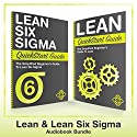 Lean Six Sigma and Lean QuickStart Guides Audiobook by ClydeBank Business Narrated by Lucy Vest