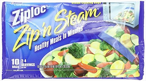 Ziploc Cooking Bags, Medium, 10-Count, Pack Of 6