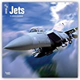 Jets 2018 12 x 12 Inch Monthly Square Wall Calendar, Airplane Aircraft Military Flight (Multilingual Edition)