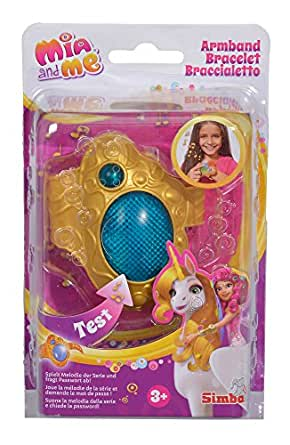 Simba 109480101 - Mia and Me Bracelet with light and sound