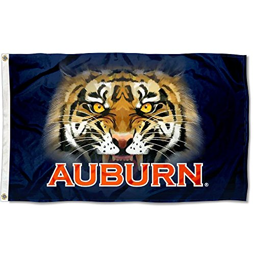 Auburn Tigers Tiger Eyes College Flag