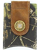 Nocona Men's Shotgun Shell Mossy Oak Money Clip