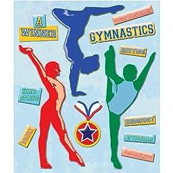 K&company Gymnastics Sticker Medley
