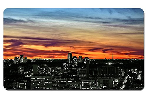 "Toronto Sunset Mobile - Large Gaming Mouse Pad - Tabletop Mat - 23.6""x13.8""(60cmx35cm)"