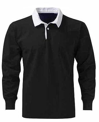 1a1db4f65568 Herren Premium Rugby-Shirts, Baumwolle, Gr ouml  szlig en XS bis 3 nbsp