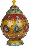 Ritual Buddhist Vase - Amber Dust Resin
