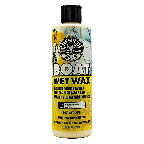 Chemical Guys MBW10116 Marine and Boat Wet Wax (16 oz)