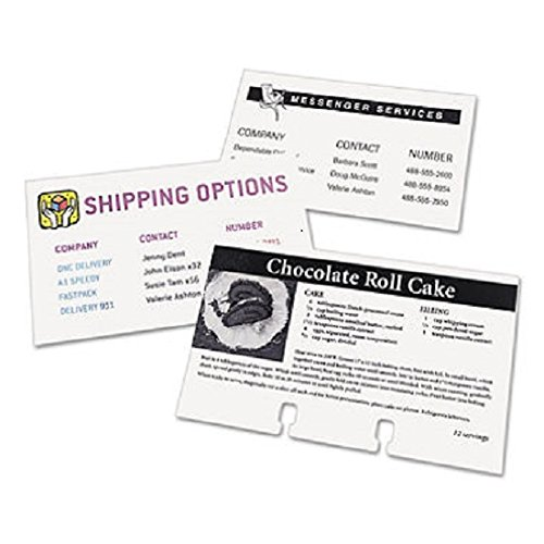 (AVE5388 - Avery Unruled Index Cards for Laser and Inkjet)