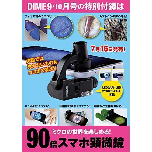 DIME 2020年9・10月合併号 付録