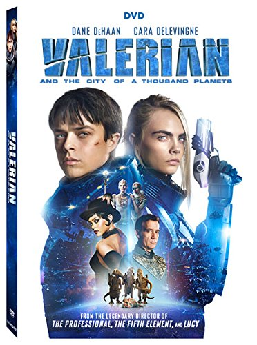 Valerian and the City of a Thousand Planets (2 Pack, Widescreen, Subtitled, Dolby, AC-3)