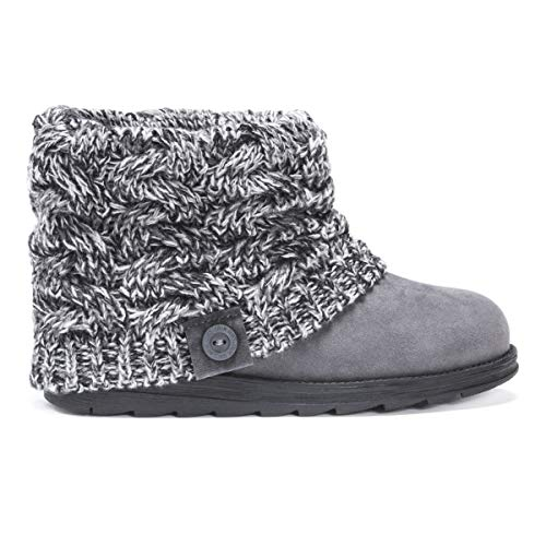 MUK LUKS Women's Patti Boots - Ebony (11 Womens Sweater Boots Size)