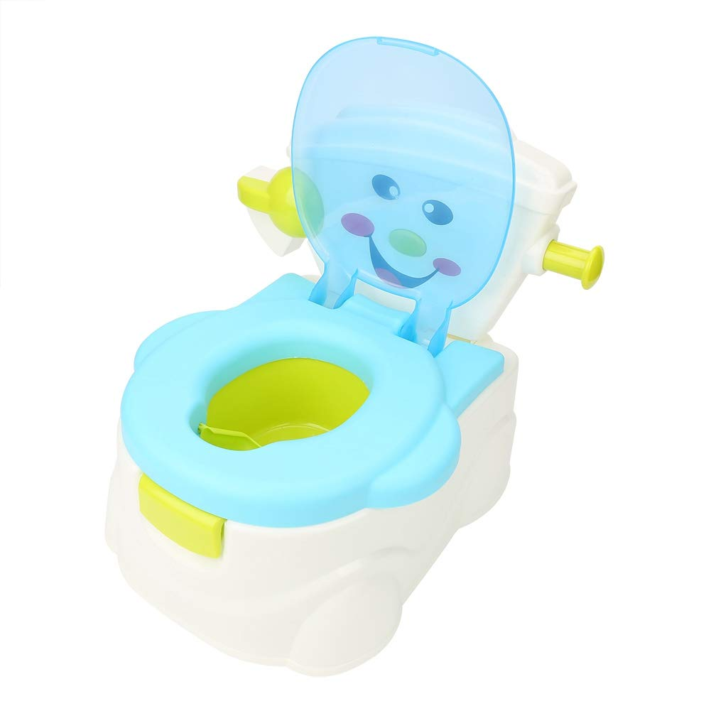 Toilettentrainer Kinder Baby Toilettensitz Lerntöpfchen Töpfchen WC Musik