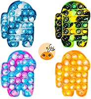 Chanarily Pop Sensory Fidget Toy,Simple Dimple Fidget Pack,Stress Relief Hand Toys for Kids Adults