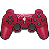 Indiana University PS3 Dual Shock wireless controller Skin - Indiana University Distressed Vinyl Decal Skin For Your PS3 Dual Shock wireless controller
