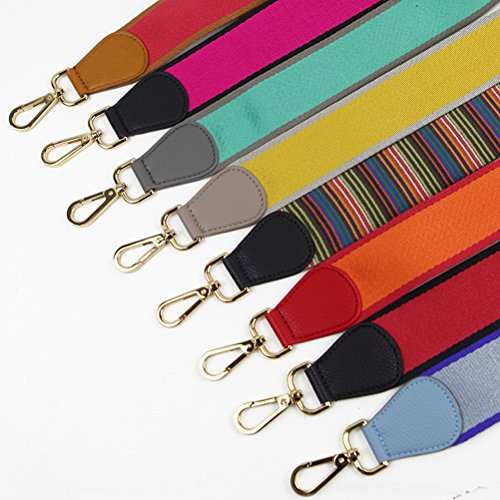 Canvas for Strap Replacement Crossbody Red 0cm Fashion 135cm Strap 75cm Multicolor 5 Wide Purse Handbags Girls Black Umily Women Leather Style wxpg0qYaWP