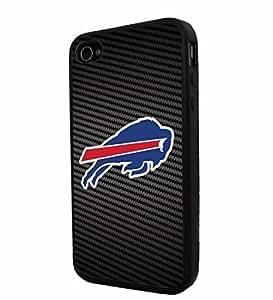 American Football good case BUFFALO BILLS Logo, Cool iPhone 6 plus 5.5 Smartphone iphone Case Cover Collector iphone TPU Rubber Case Black