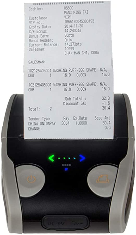 FAY Impresora de Etiquetas, Impresora térmica portátil Bluetooth ...