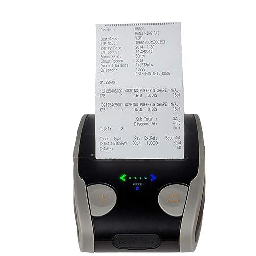 FAY Impresora de Etiquetas, Impresora térmica portátil ...