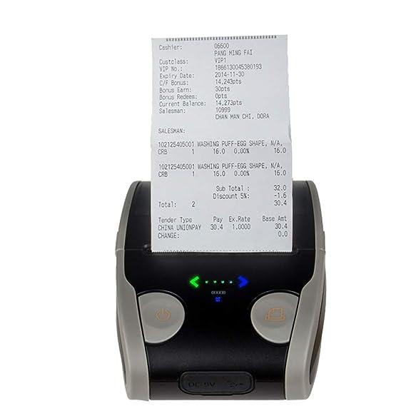 WSY Impresora de Etiquetas Bluetooth, Impresora térmica ...