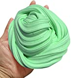 (US) Newest Green Fluffy Slime Crystal - Super Soft, Fluffy Floam Slime Sludge Toys Gifts, School Supplies