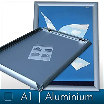 DIN A1 Aluminium Frame with Click System: Amazon.co.uk: Office Products