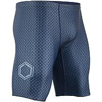 Onvous Men's AquaGenesis Compression Racing Swimsuit & Cross-Training Jammer/Shorts