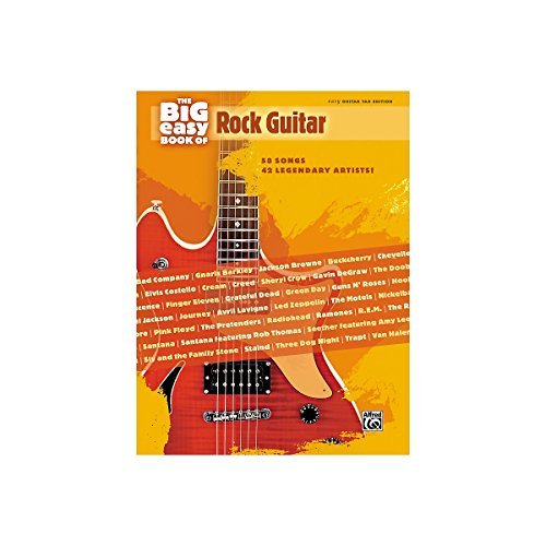 Alfred The Big Easy Book of Rock Guitar (Avril Lavigne Guitar Tab)